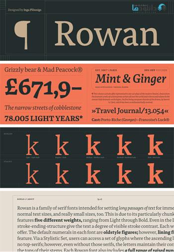 Rowan-Font-Family