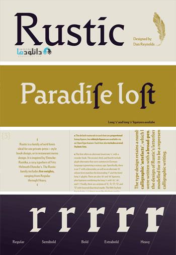 Rustic-Font-Family