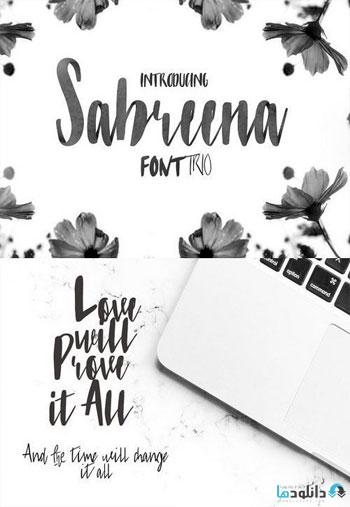 Sabreena-Font