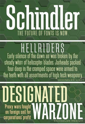Schindler-Font-Family