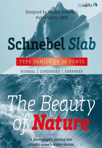 Schnebel-Slab-Font-Family