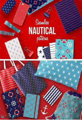 Seamless-Nautical-Pattern