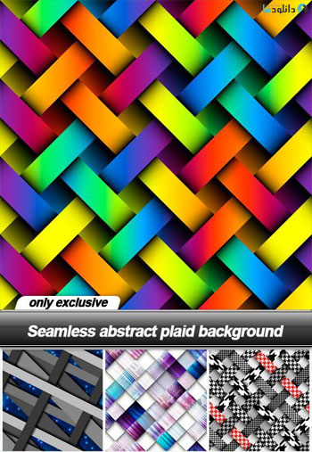 Seamless-abstract-plaid-background