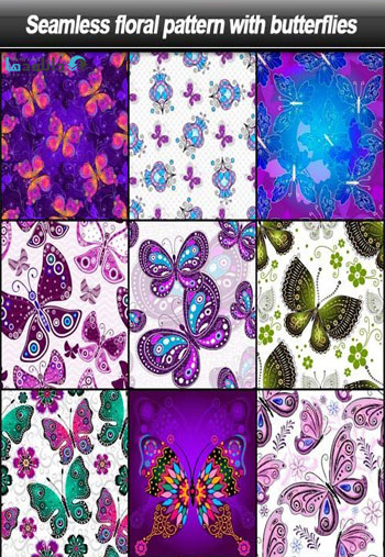 Seamless-floral-pattern-with-butterflies