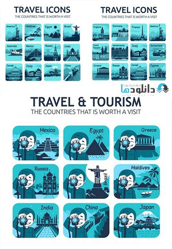 Set-of-flat-travel-icons-with-different-countries