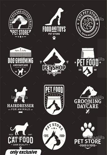 Set-of-vector-pet-logo
