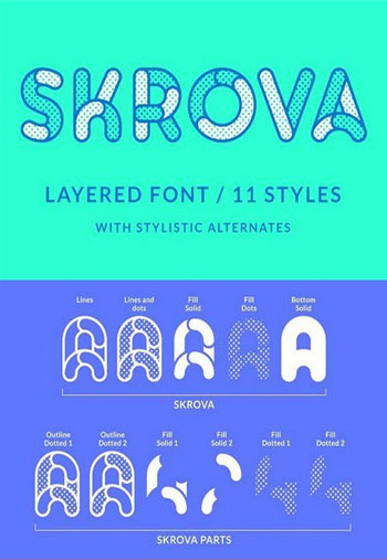 Skrova-layered-font