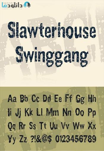 Slawterhouse-Swinggang-Font
