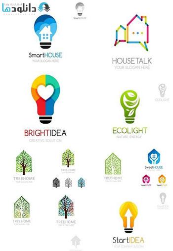 Smart-house-logo-template-vector