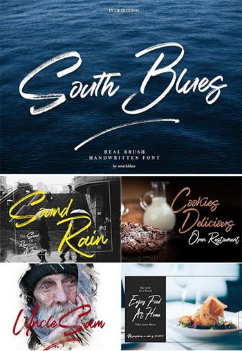 South-Blues-Script-Font