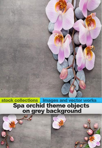 Spa-orchid-theme-objects-on