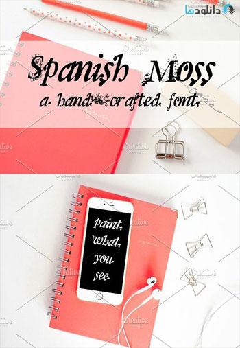 Spanish-Moss-Font