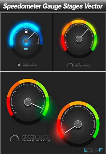Speedometer-Gauge-Stages-Vector