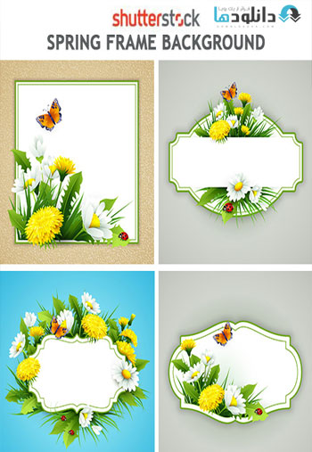 Spring-Frame-Background-Vector