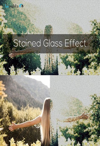 Stained-Glass-Effect