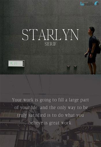 Starlyn-Font
