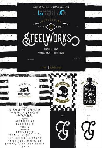 Steelworks-Bonus-Font