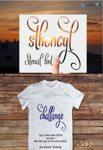 Sthencyl-Font