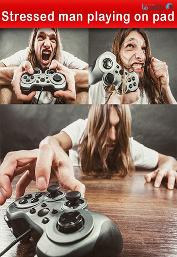 Stressed-man-playing