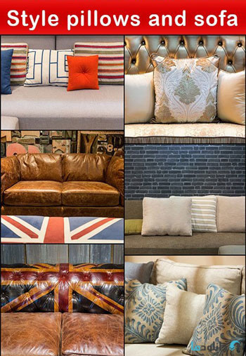 استوک-Style-pillows-and-sofa