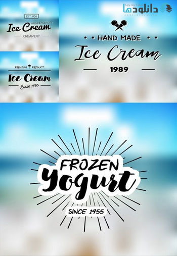 Summer-ice-cream-set-Icon