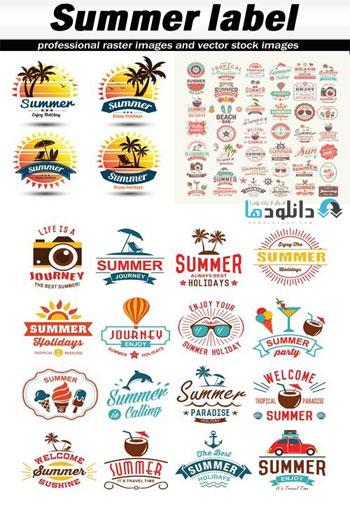 Summer-label-Vector