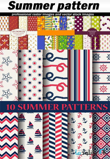 Summer-pattern-Vector