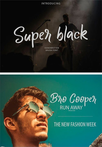 Super-Black-Bursh-Font