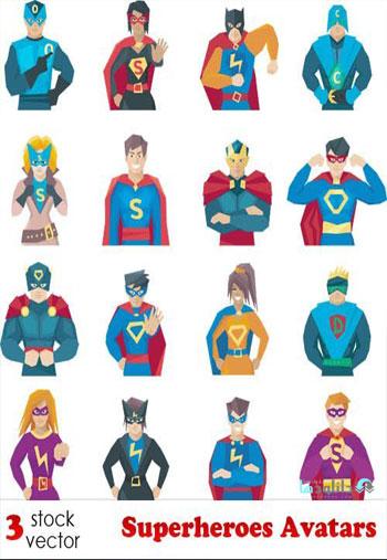 Superheroes-Avatars