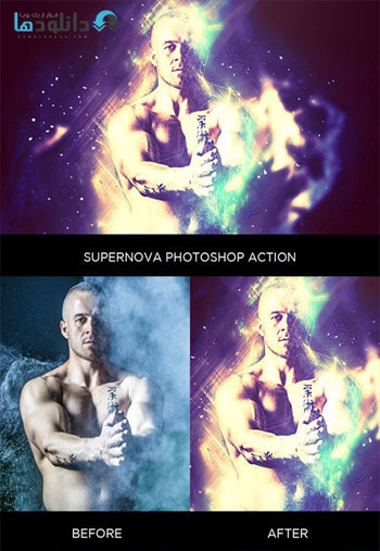 Supernova-Photoshop-Action