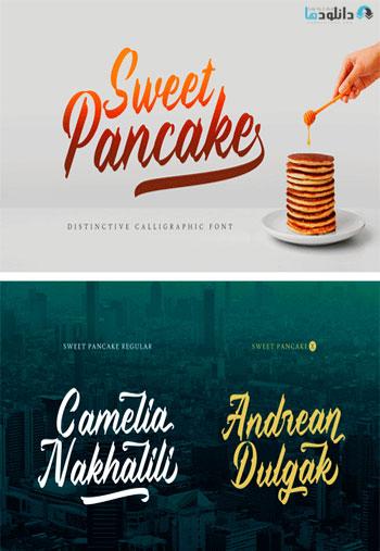 Sweet-Pancake-Font