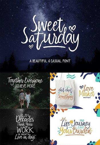 Sweet-Saturday-Script-Fonts