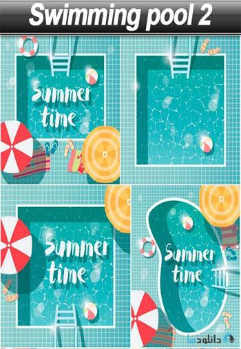 وکتور-Swimming-pool