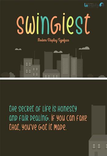 Swingiest-Typeface