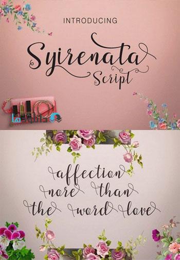 Syirenata-Script-Font
