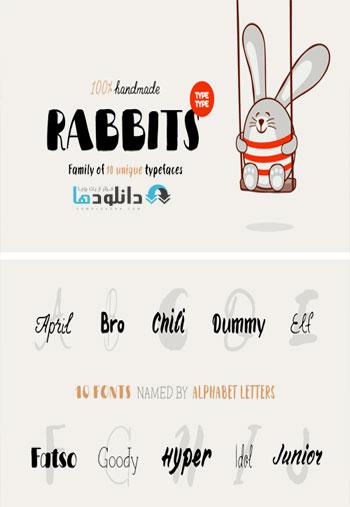 TT-Rabbits-Font-Family