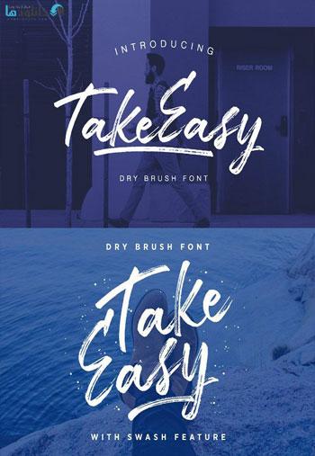 TakeEasy-Font