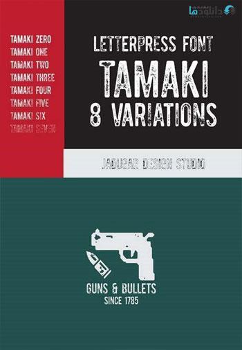 Tamaki-Font