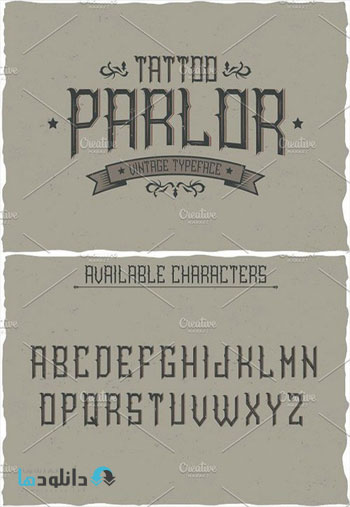 Tattoo-Parlor-Vintage-Label