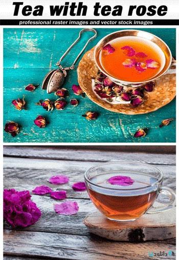 Tea-with-tea-rose