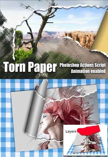 Torn-Paper-Animation