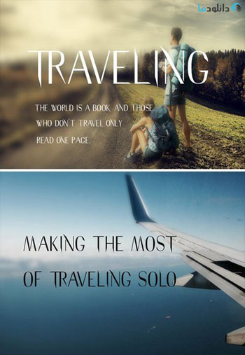 Traveling-Typeface