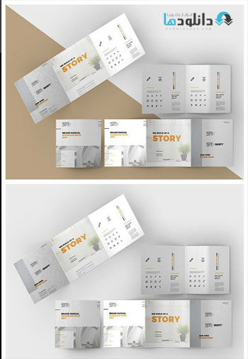 Tri-Fold-Square-Brochure-Mock-up
