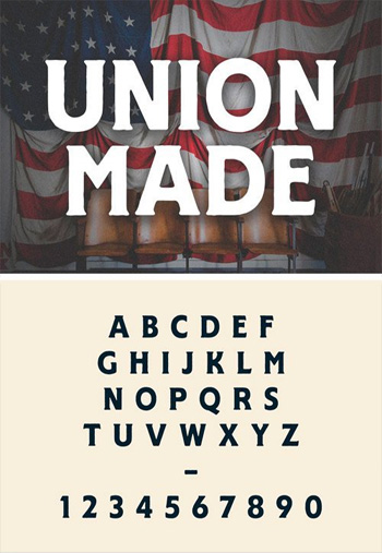 UNION-MADE-FONT