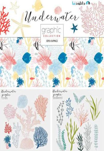 Underwater-Graphic-Collection