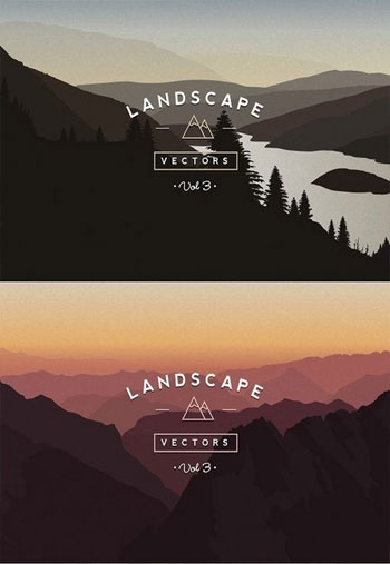 Vector-Landscapes-Bundle