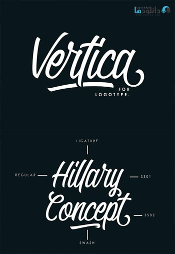 Vertica-Font