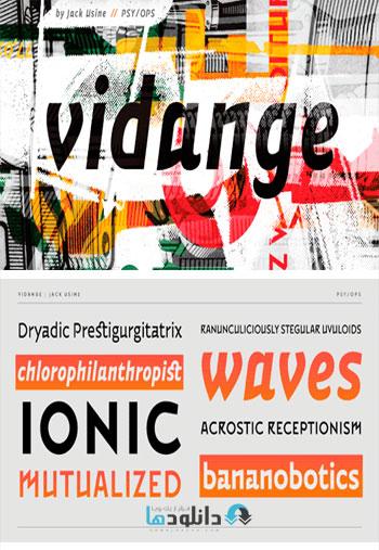 Vidange-Pro-Font-Family