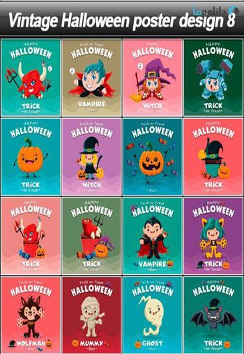 Vintage-Halloween-poster-