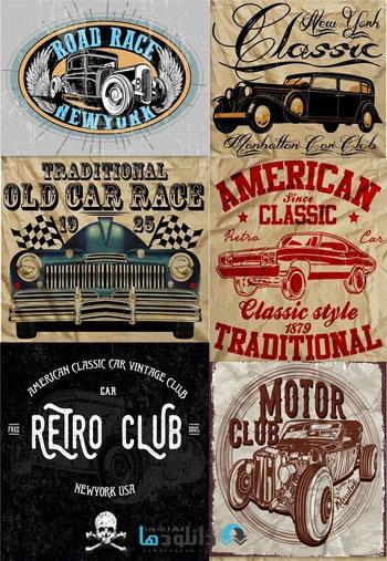 Vintage-car-tee-graphic-des